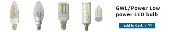 Power saving LED lamps