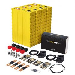 LiFePO4 12V, 1.92kWh LiFeYPO4 lithium battery set with 160Ah cells, BMS mobile monitoring Winston