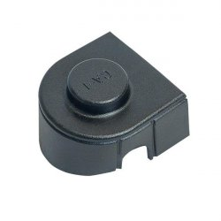 Terminal connector cover size 1 - black