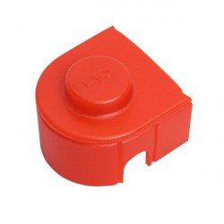 Terminal connector cover size 1 - red