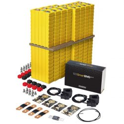 LiFePO4 12V, 480Wh LiFeYPO4 lithium battery set with 40Ah cells, BMS mobile monitoring Winston