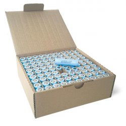 Pack of 100pcs: 3.7V 3200 mAh, rechargeable battery  (Li-ion, LG MH1)