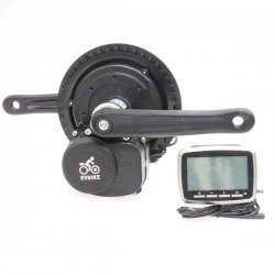 Set EVBIKE, central axis system (500W, 36V), LCD display, torque sensor