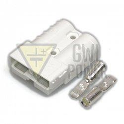 DC Connector 144V/50A 2 pins - SA50 White