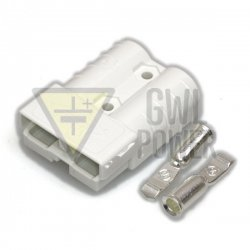 DC Connector 144V/50A 2 pins - SA50 White