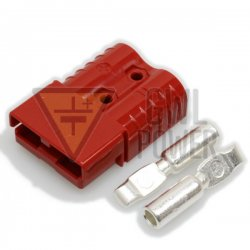 DC Connector 24V/120A 2 pins - SA120 Red