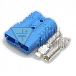 DC Connector 48V/120A 2 pins - SA120 Blue