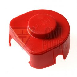 Terminal connector cover size 3 - red