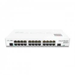 Cloud Router Switch CRS125, 24x Gbit LAN, Gbit SFP port, Touchscreen LCD, L5