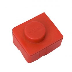 Terminal connector cover size 2 - red