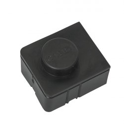 Terminal connector cover size 2 - black