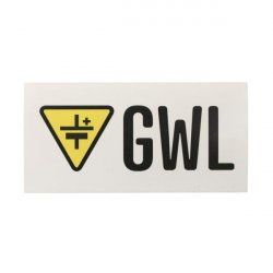 Promo: Sticker with GWL logo 10x5cm