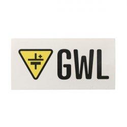 Promo: Sticker with GWL logo 10x5cm