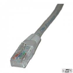 kabel patch UTP c5e 0,5m grey