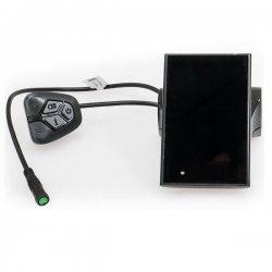 EVBIKE LCD displej C18 pro středový pohon, barevný, USB