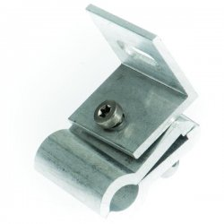 Clamps for solar panels for sheet metal roofs