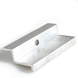 Aluminium module end clamps for framed modules (45mm)