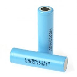 Pack of 5pcs: 3.7V 3200 mAh, rechargeable battery  (Li-ion, LG MH1)
