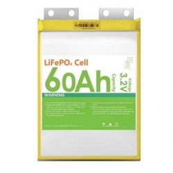 LiFePo4 LiFeYPO4 60Ah lithium iron phosphate battery NPB (3,2V/60Ah)