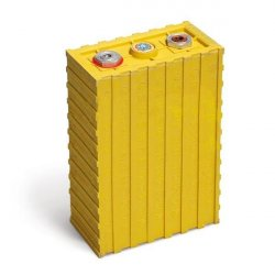 LiFePo4 90Ah lithium iron phosphate prismatic battery Winston yellow (3,2V/90Ah)