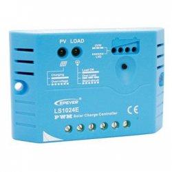 Solar PWM Regulator 12/24 V, 10A, Input 30V/50V (LS1024E)