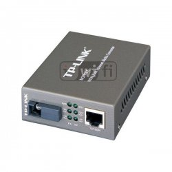 WDM 10/100M Single-Mode Fiber/Eth Media Converter
