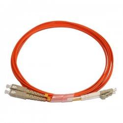 Optical patch cord LC-SC 1 m 62,5/125 multi-mode fiber