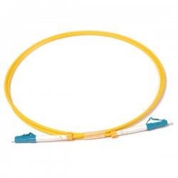 Optical patch cord LC-LC 1 m 9/125 single-mode simplex fiber