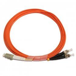Optical patch cord LC-ST 3 m 62,5/125 multi-mode fiber