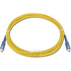 Optical patch cord SC-SC 1 m 9/125 single-mode simplex fiber