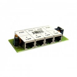 4-port passive POE panel