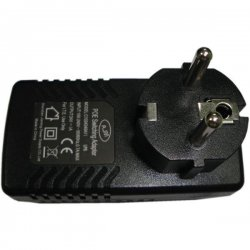 POE injector 24V 1A 24W (into the socket with grounding)