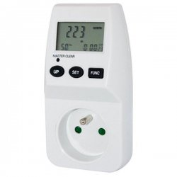 Watt and Energy Meter- socket 230V/16A - GridFree