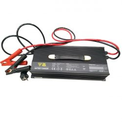 Charger 12V/100A for LiFePO4 (4 cells, 1 batt, 14,6V), LCD