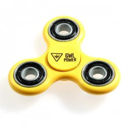 Promo: Fidget spinner yellow