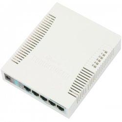 RB260GS managed 5-port gigabit switch, SFP port