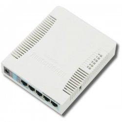 RB951G-2HnD 128 MB RAM, 600 MHz, 5x Gigabit LAN, 1x 2,4 GHz, 802.11n, L4
