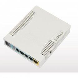 RB951Ui-2HnD 128 MB RAM, 600 MHz, 5x LAN, 1x 2,4 GHz, 802.11n, L4