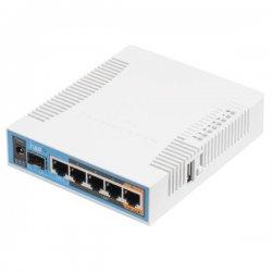 RB962UiGS-5HacT2HnT hAP ac, 720 MHz, 5x LAN, 2,4 GHz, 5 GHz 802.11b/g/n/a/ac, L4