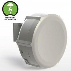 SXT Lite2, antenna 60°, 10 dBi, MIMO 2x2, 27 dBm, 802.11b/g/n, L3 (2,4GHz)