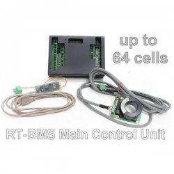Real Time BMS 2.1 - Main Control Unit 64 cells + accessories