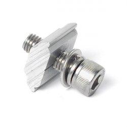 Alu nut with M8 screw