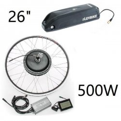 "Set motor with rim 26"" Front drive with frame battery 36V/13Ah"