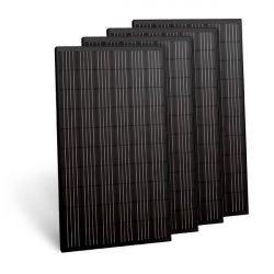 Fotovoltaické panely GWL 300Wp Monokrystal, celočerný