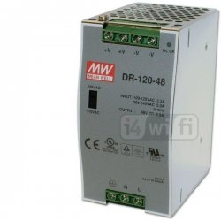 DIN power supply 48 V, 2,5 A (120 W / switching)