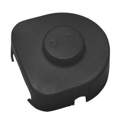 Terminal connector cover size 4 - black