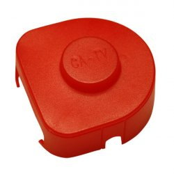 Terminal connector cover size 4 - red