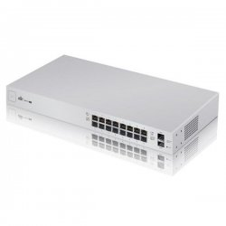 UniFi Switch - 16x Gbit LAN, 2x SFP port, POE+, 150W
