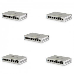 UniFi Switch - 8x Gbit LAN, 4x POE 802.3af, 60W, 5-pack