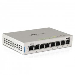 UniFi Switch - 8x Gbit LAN, 1x PoE In, 1x PoE Out